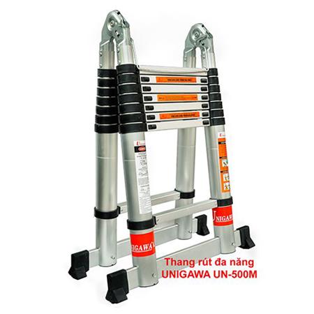 Thang nhôm rút đôi chữ A Unigawa UN-500M 5.0m