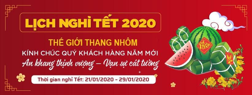 Banner Nghỉ Tết 2020
