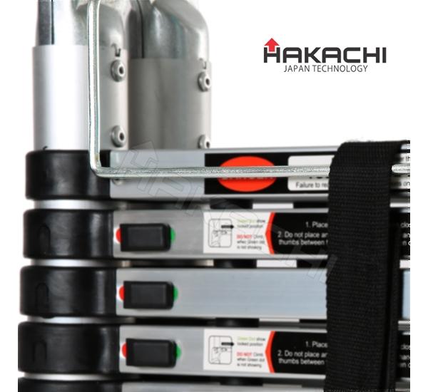 Thang nhôm rút đôi Hakachi HM-16