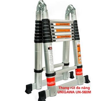 Thang nhôm rút đôi chữ A Unigawa UN-560M 5.6m