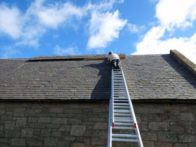 Lựa chọn thang nhôm sửa mái nhà phù hợp và an toàn