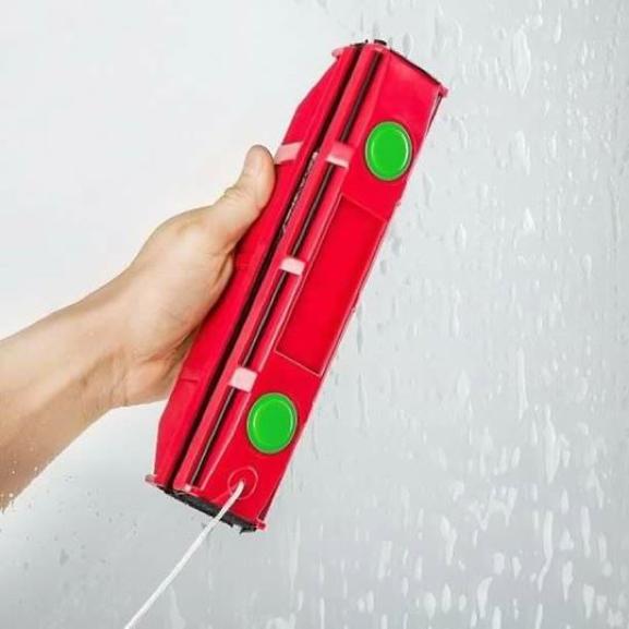Dụng cụ lau cửa kính 2 mặt chuyên dụng cho nhà cao tầng
