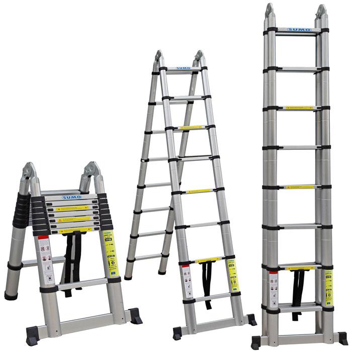 Cần mua thang nhôm rút chữ A chiều cao 5m? 3 lựa chọn đáng cân nhắc hiện nay