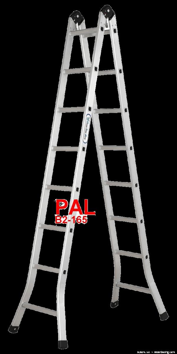 Chọn mua thang nhôm chữ A PAL B2-165 Đài Loan