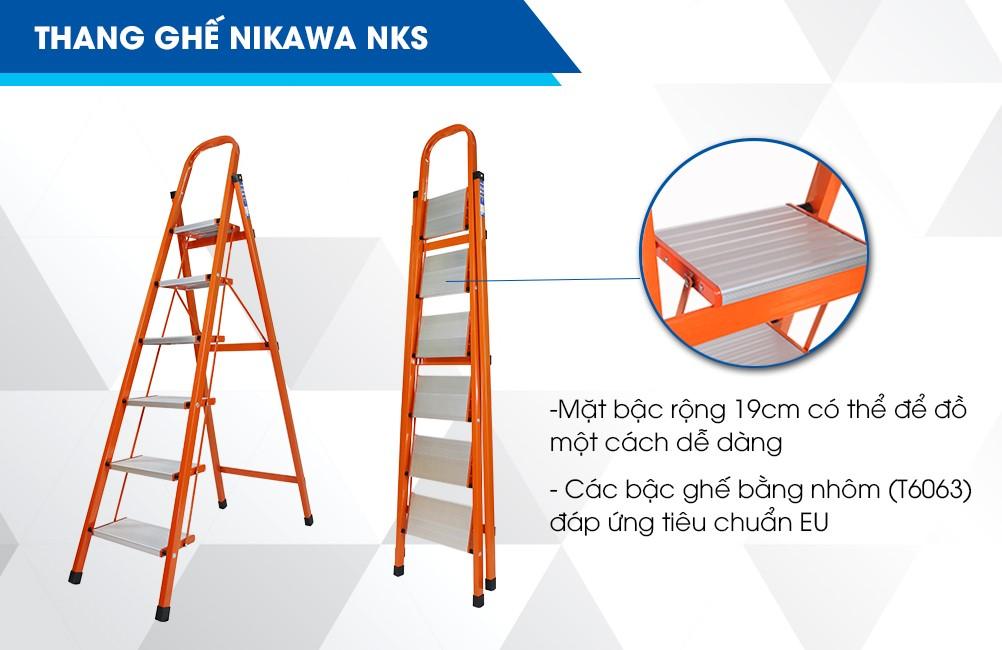 Thang ghế Nikawa NKS - 06