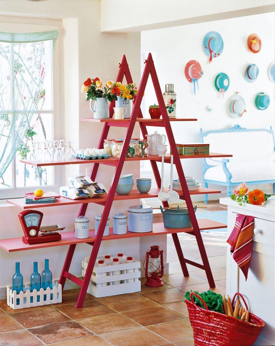 Biến tấu không gian nhà bạn từ những chiếc thang nhôm