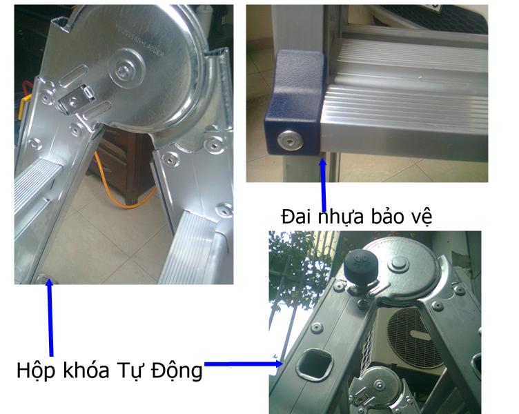 Tại sao nên chọn mua thang nhôm Poongsan PS-47?