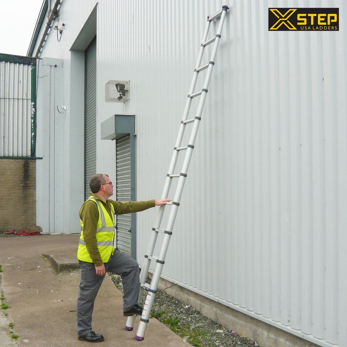 Lựa chọn thang nhôm cho việc sửa mái nhà