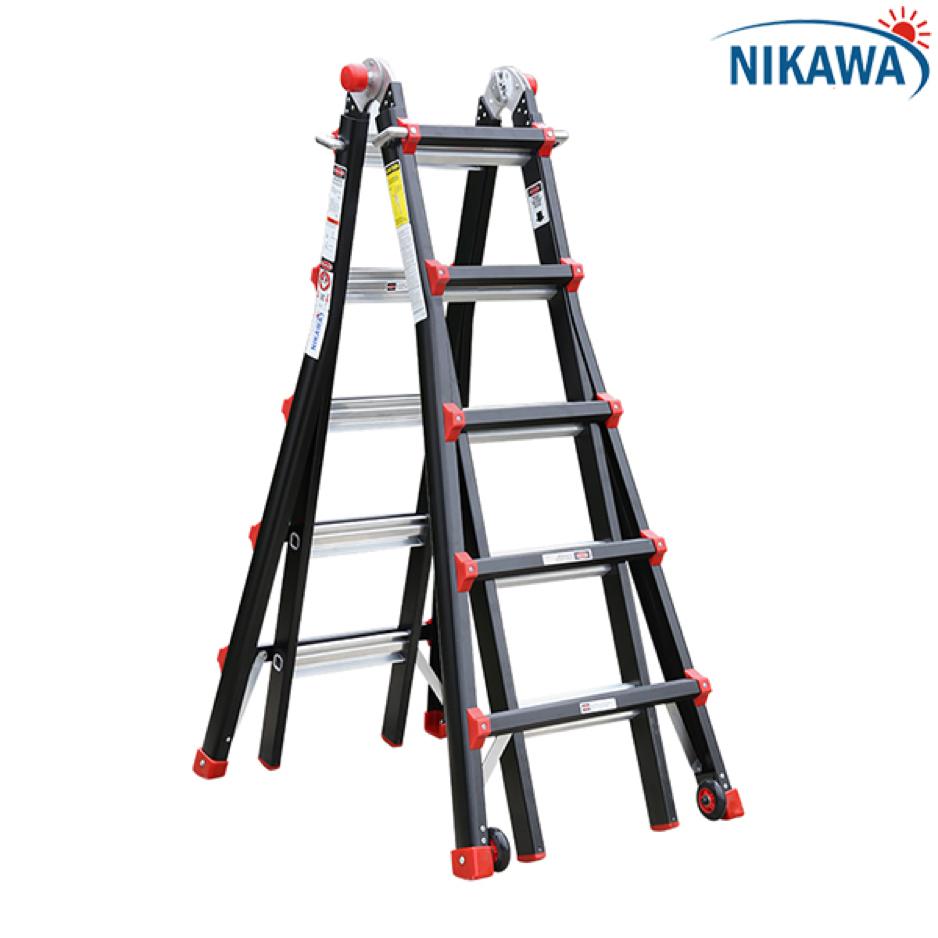 Lắp đèn cầu thang nên dùng loại thang nhôm nào mới an toàn?