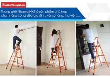 Gợi ý thang nhôm thay bóng đèn trong gia đình không cần điểm tựa