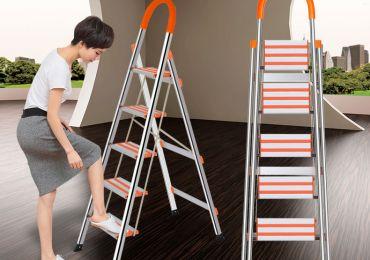 5 Quan điểm sai lầm khi sử dụng thang nhôm tại nhà