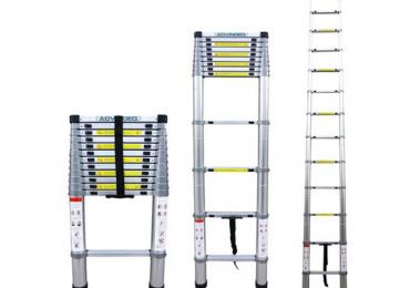Bộ sưu tập thang nhôm rút đơn có tải trọng trên 150kg (phần 2)