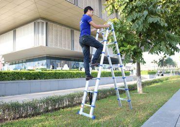 Gợi ý 5 mẫu thang nhôm hỗ trợ công việc làm vườn hiệu quả