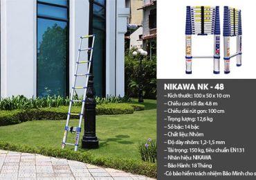 Thang Nikawa NK-48 - dòng thang nhôm được ưa chuộng nhất hiện nay