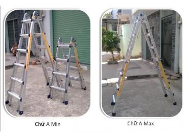 Sửa bóng đèn sẽ trở nên đơn giản hơn với 3 mẫu thang nhôm sau