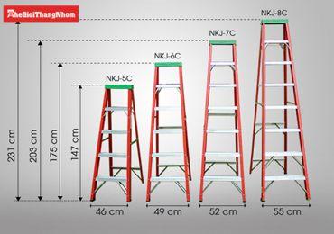 Gợi ý 5 mẫu thang nhôm dành cho thợ sửa điện